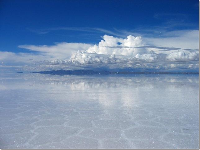 Солончак Уюни — соленое озеро Боливии