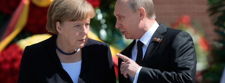 Путин дал Меркель шанс доказать, что она не болонка Вашингтона