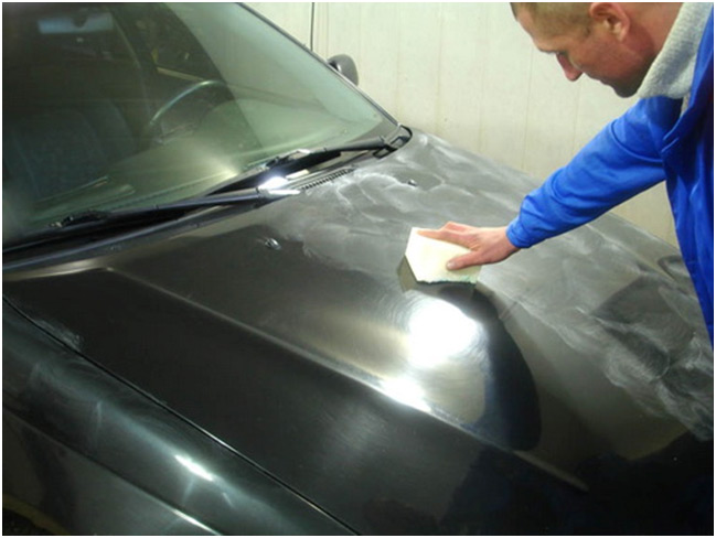 Как полировать кузов своими руками