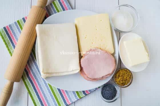 ингредиенты для улиток