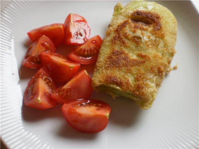 Шницели капустные с сыром