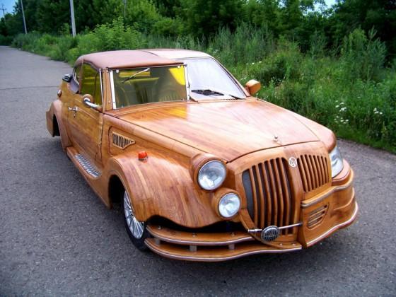 «Дубовый» автомобиль ручной сборки выставлен на продажу