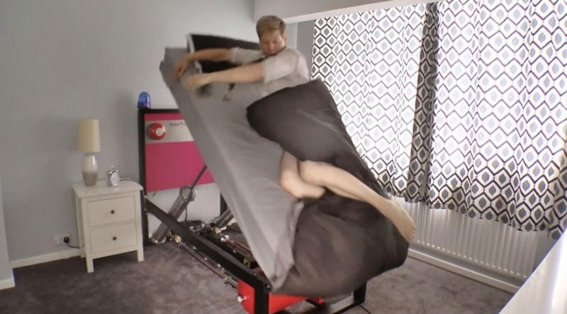 Слава богу, что существует кровать, вышвыривающая вас утром из постели