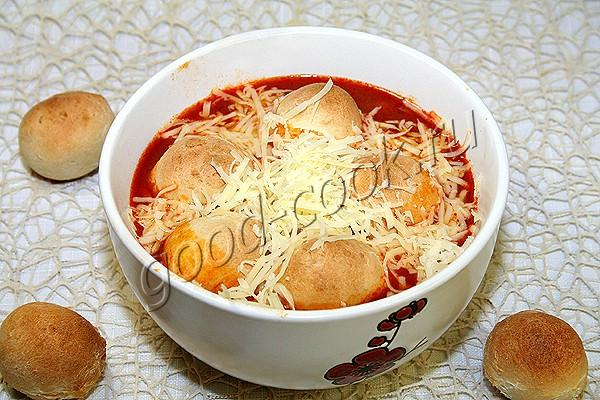 пицца-суп