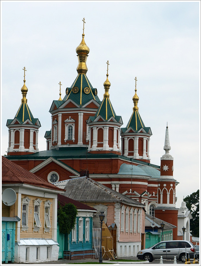 "Kolomna: nice architecture and delicious Russian ""marshmallow"""