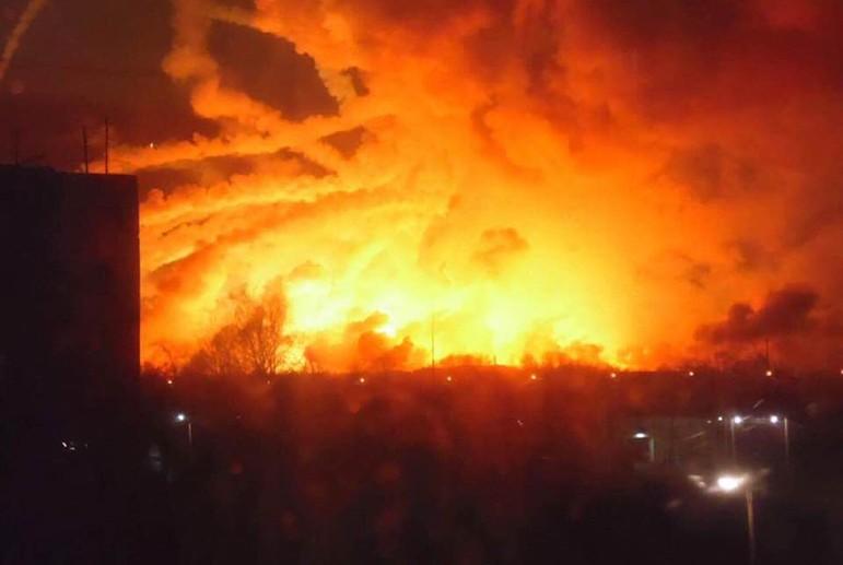 Взрыв боеприпасов в Балаклее: какие следы хотят скрыть киевские генералы