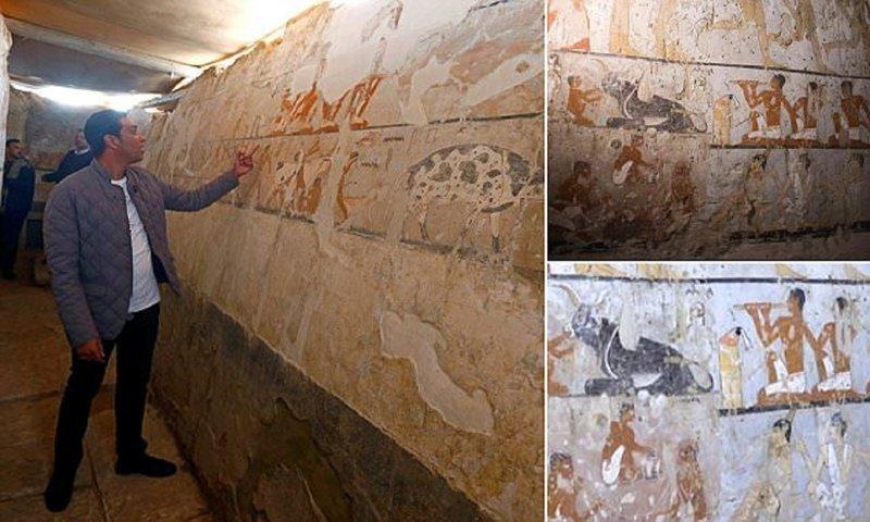 Египетские археологи нашли гробницу возрастом 4400 лет