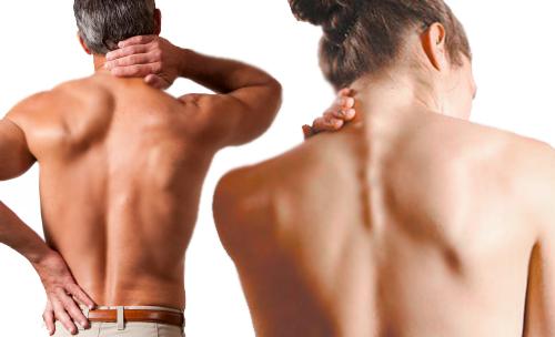 Надавив пальцами на эти 2 точки боль в спине мгновенно исчезнет!