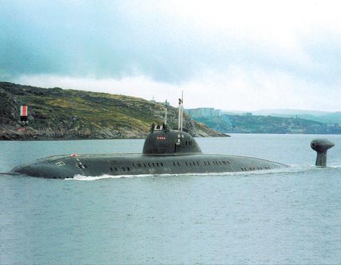 завеса подводных лодок