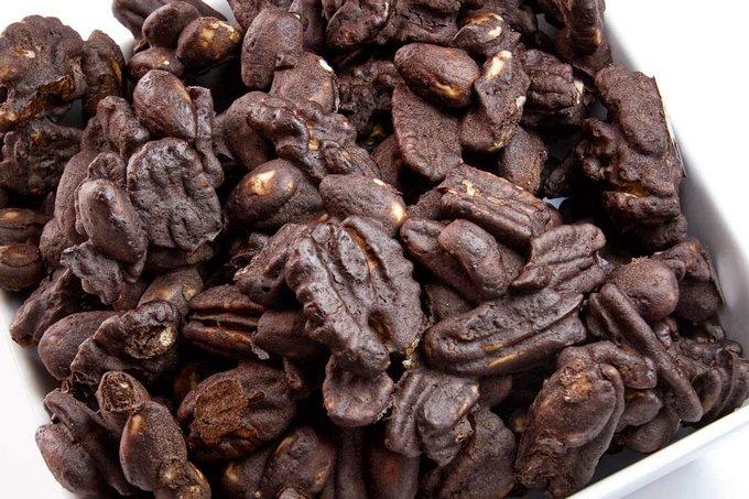 Грецкие орехи в какао