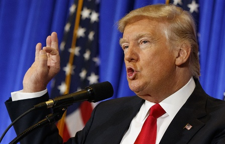 Трамп дал интервью The Times: недостатка новостей из Белого дома не будет