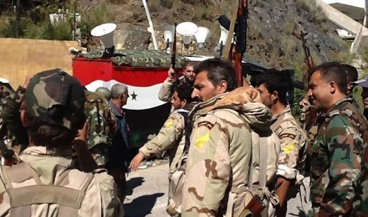 SANA: сирийские войска наступают врайоне Тадмора впровинции Хомс