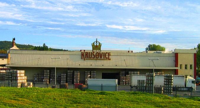 Пивной завод Крушовице (Krušovice).