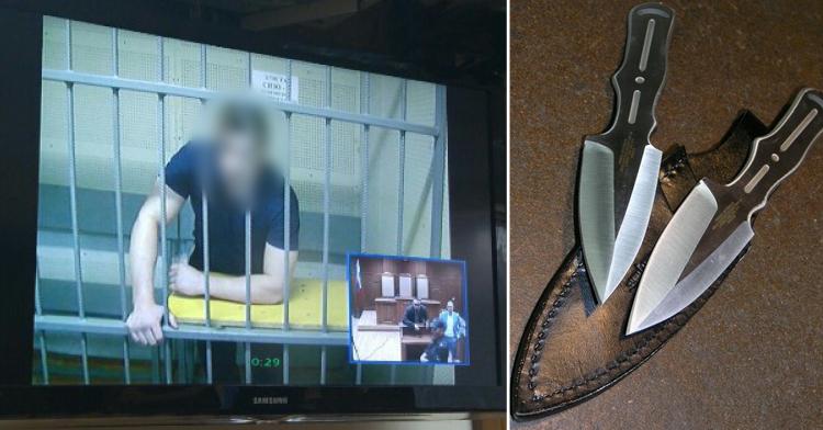 Отец изнасилованной 14 летней девочки, совершил возмездие над насильником прямо в зале суда