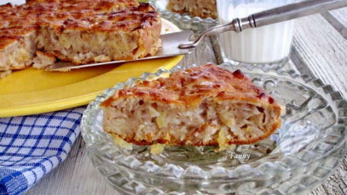 Рецепт яблочного пирога, привезенный из Франции. Невероятно нежный, насыщенный, и прямо тает во рту!