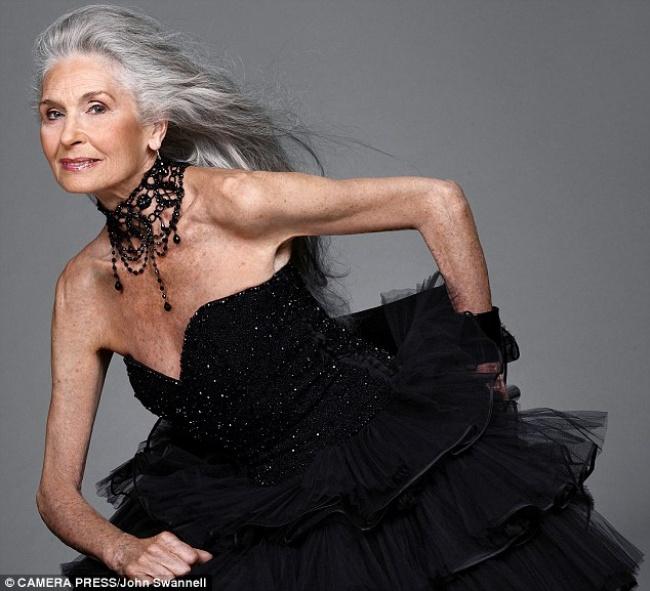 Им за 70, и они — модели! И язык не повернется назвать их пенсионерками!