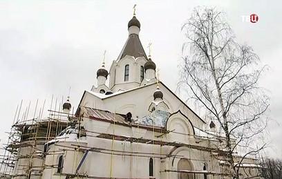 На северо-востоке Москвы завершается строительство новой церкви