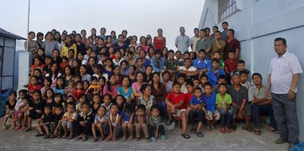 Самая большая в мире семья.