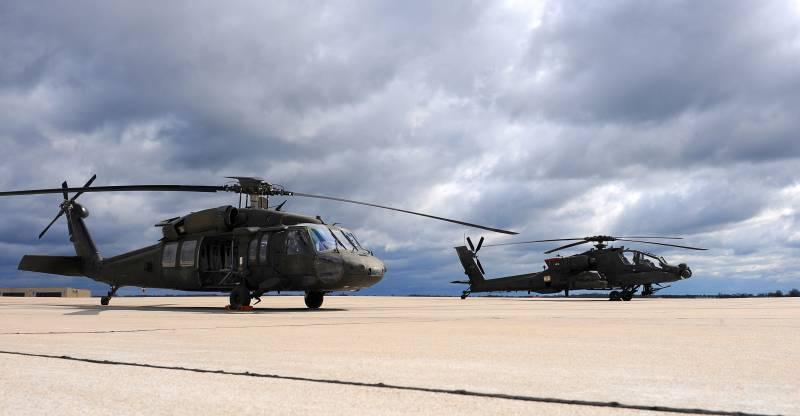 В Эстонию для учений прибыли вертолеты США
