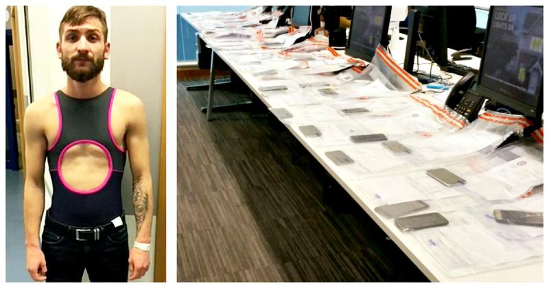 Рекорды по-румынски: карманник украл 53 телефона за один вечер с помощью купальника