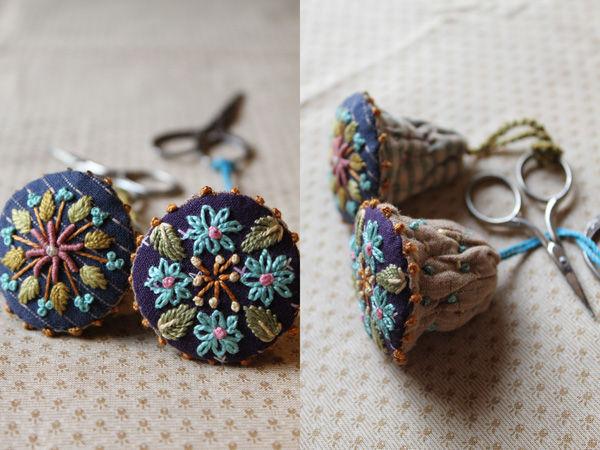 Идеи для вдохновения — французская вышивка от Facile Cecile