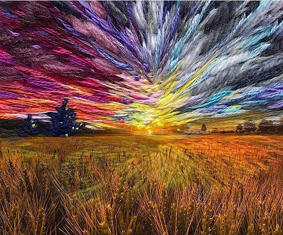 Вы не поверите,но это вышито! Впечатляющие пейзажи ВЕРЫ ШИМУНИ. Браво мастеру за такую красоту!