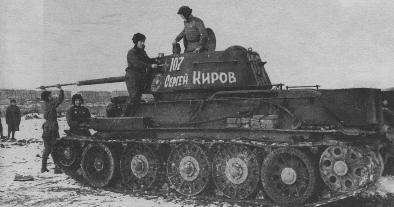 Охота советских танкистов на немецкий зверинец