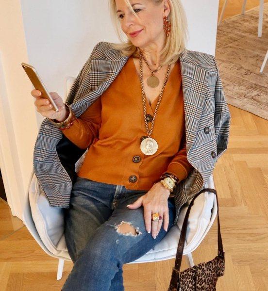Гардероб для тех, кому за 50 – 25 интересных образов от стилиста для зрелой женщины