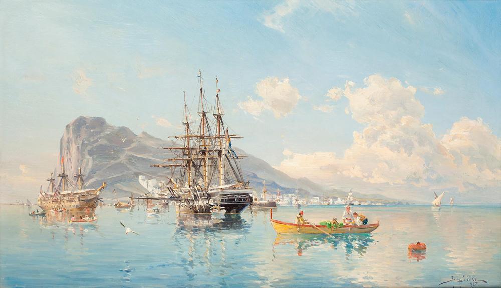 Герман Густав аф Силлен и его корабли.