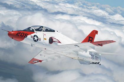 На военной базе в Миссисипи разбился учебный самолет