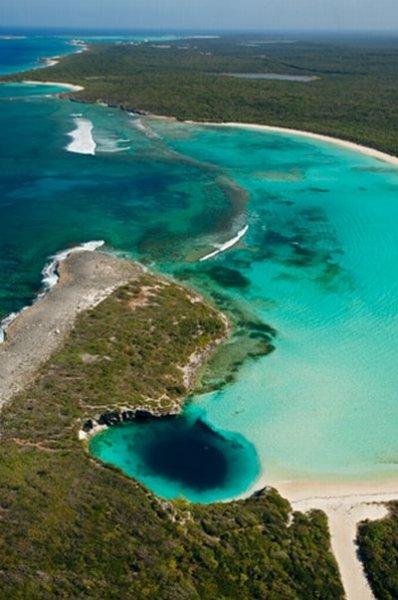 Подводные пещеры Багамских островов