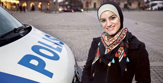 Полицейские в хиджабах?