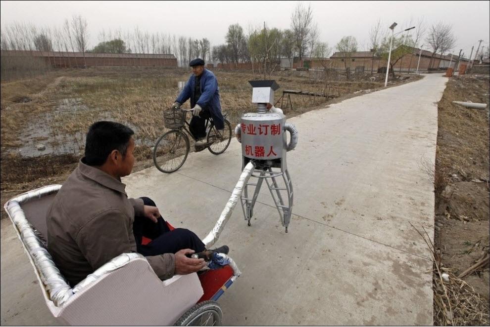 550 47 роботов китайского изобретателя