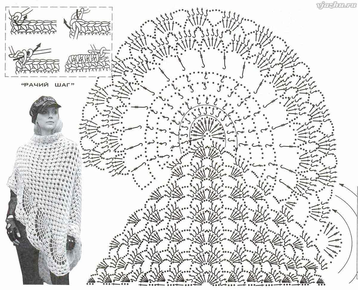 Необычные схемы для вязания крючком 318