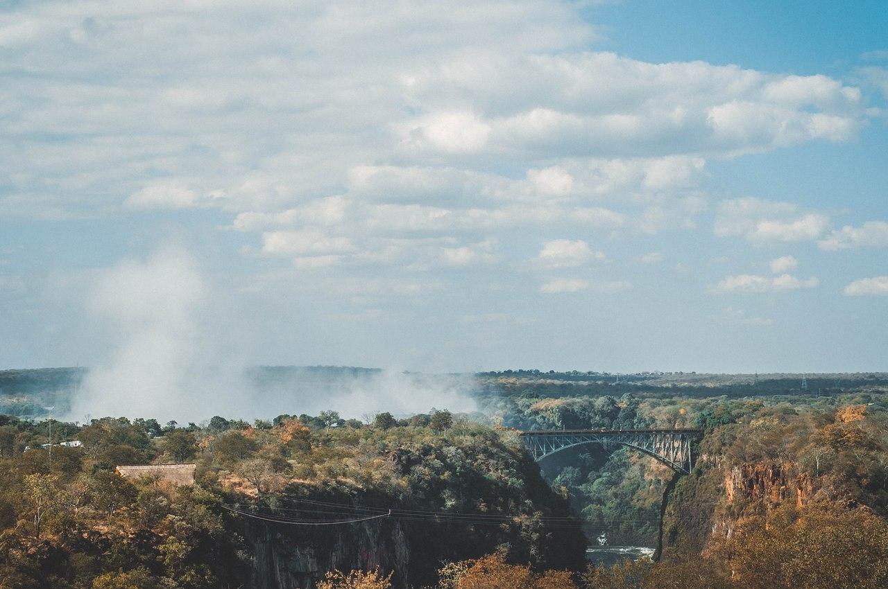 Зимбабве, водопад Виктория