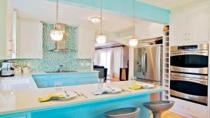 Идеальное сочетание цветов на кухне