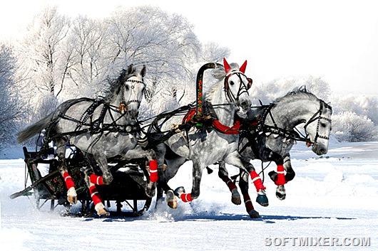 Русская зима. Cамые красивые места нашей страны