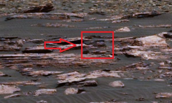 Ученые на Марсе обнаружили жилье инопланетян