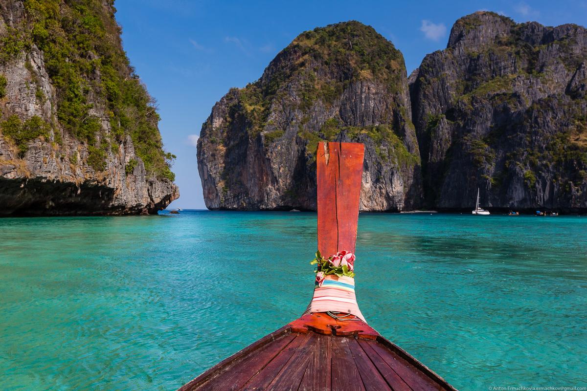 По пляжам Андаманского моря. Острова Пхи-Пхи