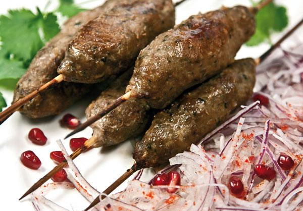 Люля-кебаб по летнему расписанию (в духовке)