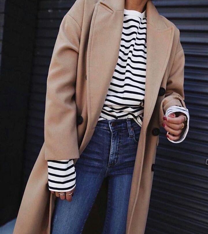 Как выбрать и с чем носить прямое пальто