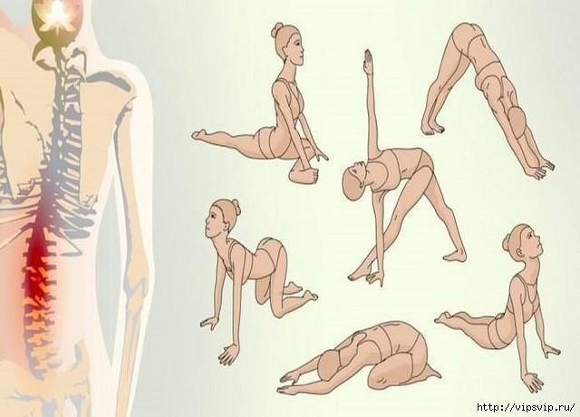 Если вас мучает острая боль в спине и шее , то эти упражнения — то, что вам надо!