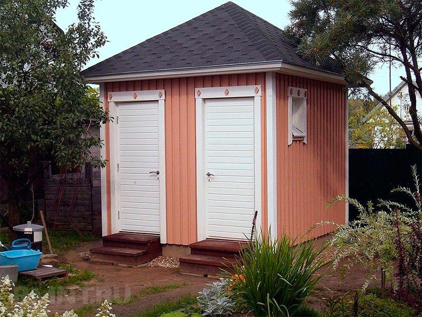 Построить летний душ и туалет