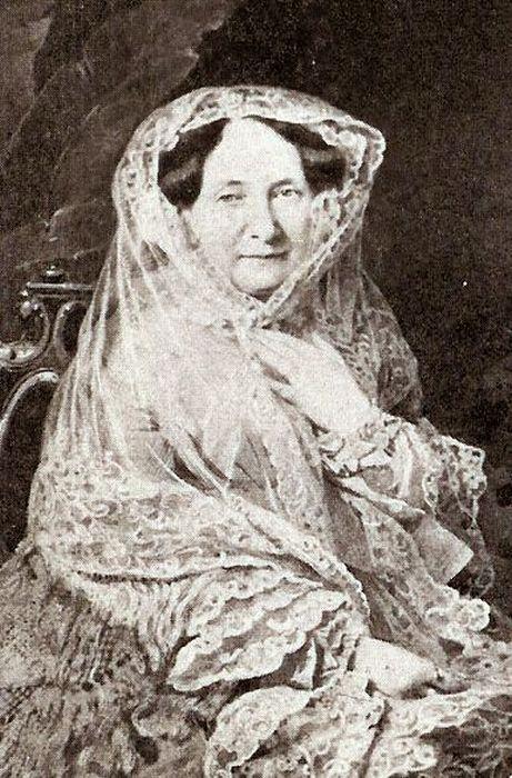 Анна Павловна в последние годы жизни. Дагеротип 1855. / Фото: www.blogspot.ru