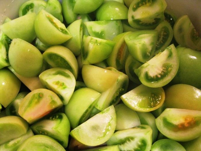 Зелёные помидоры. Аффтар: Granny