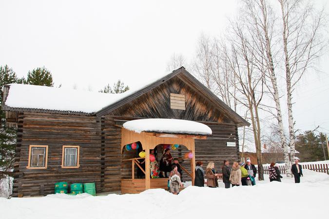 Музей русской старины в сказочной деревне