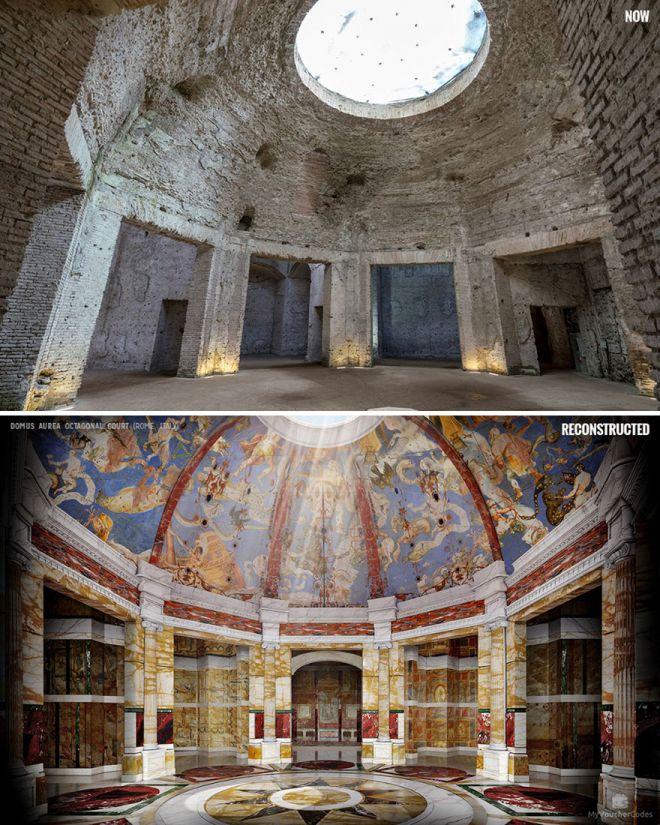 Как выглядели бы древние руины, если бы их удалось восстановить?