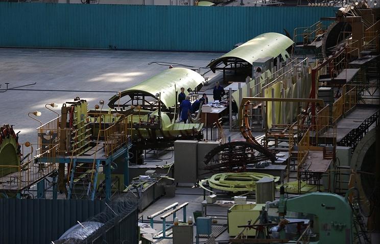 В России создан полноразмерный макет будущего стратегического бомбардировщика
