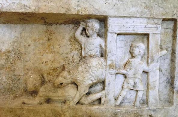 В Помпеях найдена могила организатора гладиаторских боев
