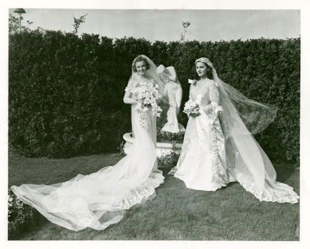 Длина имеет значение: уникальные снимки невест 30-х годов